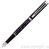 Ручка перьевая Waterman Harmonie Blue/Grey/CT S0701670/0701660
