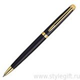 Ручка шариковая Waterman Hemisphere Matte Black GT S0920770