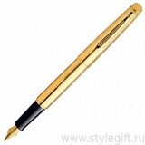 Ручка перьевая Waterman Hemisphere Golden Shine S0840610