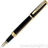 Ручка перьевая Waterman Exception Nignt Gold GT S0636890