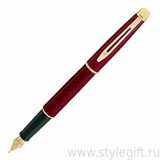 Ручка перьевая Waterman Hemisphere Marbled Red S0039630