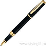 Ручка роллерная Waterman Exception Black/GT S0636810