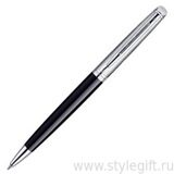 Ручка шариковая Waterman Hemisphere DeLuxe Black CT S0921150