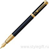 Ручка перьевая Waterman Perspective Black GT S0830800