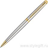 Ручка шариковая Waterman Hemisphere St Steel GT S0920370